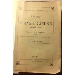 Lettres de Pline le Jeune. Couverture.