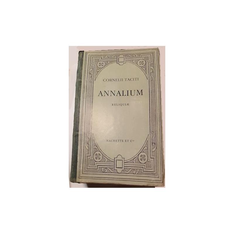 Cornelii Taciti Annalium reliquae