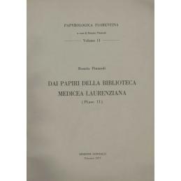 Dai Papiri della Biblioteca Medicea Laurenziana - vol. II