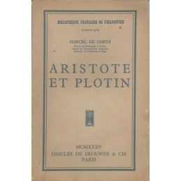 Etudes d'histoire de la philosophie ancienne : Aristote et Plotin