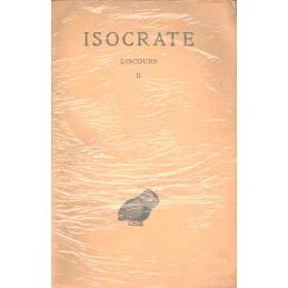 Discours, tome II : Panégyrique. - Plataïque. - A Nicoclès. - Nicoclès. - Evagoras. - Archidamos.