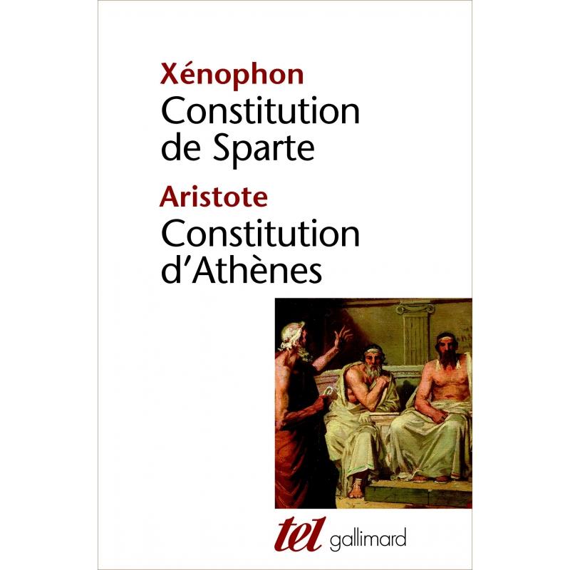 Constitution de Sparte. Constitution d'Athènes