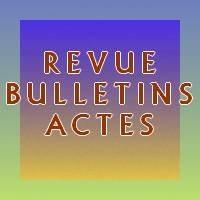 Revues, bulletins, actes